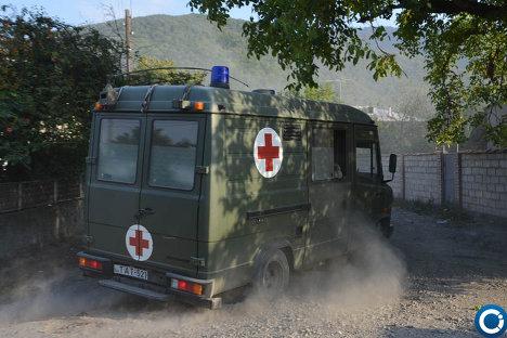 Спецоперация МВД Грузии близ грузино-российской границы - ФОТО 215181404
