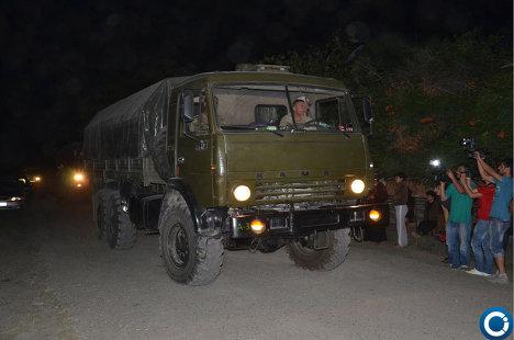 Спецоперация МВД Грузии близ грузино-российской границы - ФОТО 215181820