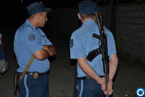 Спецоперация МВД Грузии близ грузино-российской границы - ФОТО 215181852